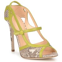 kengät Naiset Sandaalit ja avokkaat Roberto Cavalli RPS678 Python / Green