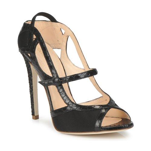 kengät Naiset Sandaalit ja avokkaat Roberto Cavalli RPS678 Black
