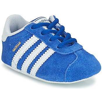 kengät Lapset Matalavartiset tennarit adidas Originals GAZELLE CRIB Blue