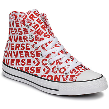 kengät Korkeavartiset tennarit Converse CHUCK TAYLOR ALL STAR WORDMARK HI Red