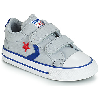 kengät Lapset Matalavartiset tennarit Converse STAR PLAYER 2V CANVAS OX Grey