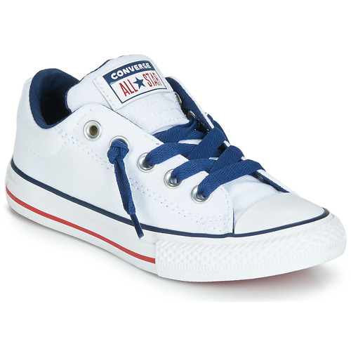 size 40 1290f 45087 kengät Lapset Matalavartiset tennarit Converse CHUCK TAYLOR ALL STAR STREET  CANVAS OX White