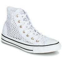 kengät Naiset Korkeavartiset tennarit Converse CHUCK TAYLOR ALL STAR HANDMADE CROCHET HI White