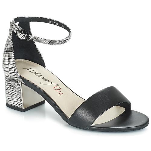 kengät Naiset Sandaalit ja avokkaat Metamorf'Ose EMBRASA Black