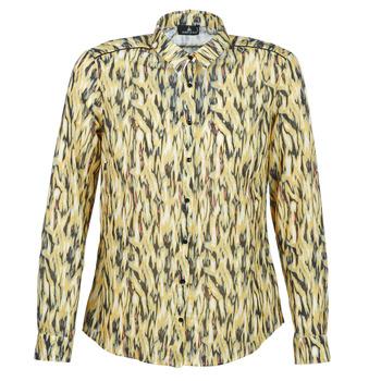 vaatteet Naiset Paitapusero / Kauluspaita One Step MONICA Yellow