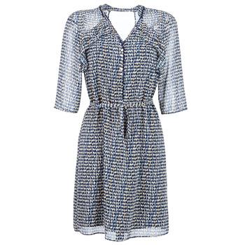 vaatteet Naiset Lyhyt mekko One Step FLORUS Laivastonsininen / Monivärinen
