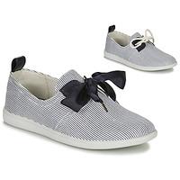 kengät Naiset Matalavartiset tennarit Armistice STONE ONE White / Laivastonsininen
