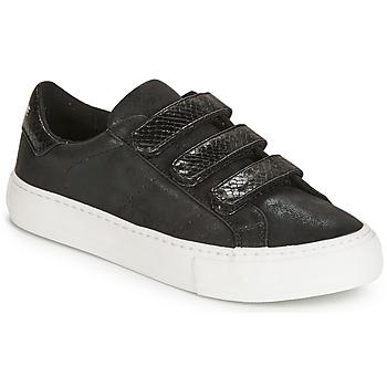 kengät Naiset Matalavartiset tennarit No Name ARCADE Black