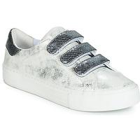 kengät Naiset Matalavartiset tennarit No Name ARCADE Valkoinen / Grey