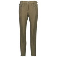 vaatteet Naiset 5-taskuiset housut Ikks BN22125-56 Kaki