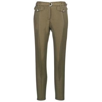 vaatteet Naiset 5-taskuiset housut Ikks BN22125-56 Khaki