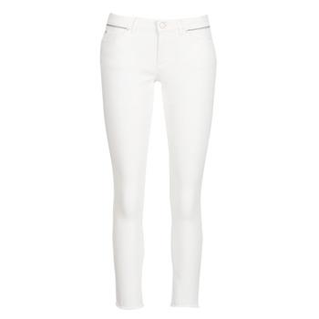 vaatteet Naiset Slim-farkut Ikks BN29135-11 Valkoinen