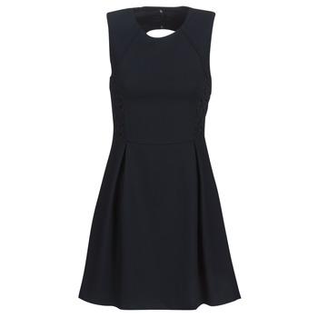 vaatteet Naiset Lyhyt mekko Ikks BN31035-549 Laivastonsininen