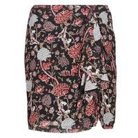 vaatteet Naiset Hame Ikks BN27105-02 Black / Multicolour