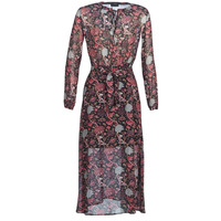 vaatteet Naiset Pitkä mekko Ikks BN30065-02 Black / Red / Grey