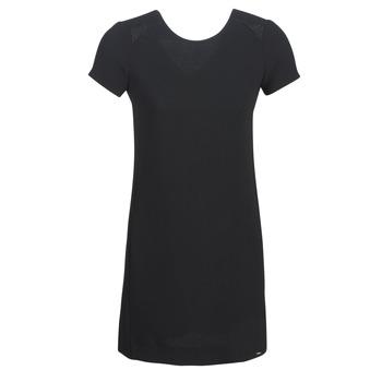 vaatteet Naiset Lyhyt mekko Ikks BN30105-02 Black
