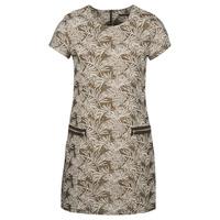vaatteet Naiset Pitkä mekko Ikks BN30165-65 Khaki / Beige