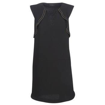 vaatteet Naiset Lyhyt mekko Ikks BN31075-02 Black