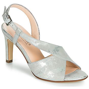 kengät Naiset Sandaalit ja avokkaat Peter Kaiser OPRAH Hopea