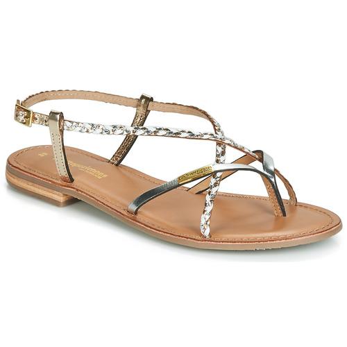 kengät Naiset Sandaalit ja avokkaat Les Tropéziennes par M Belarbi MONATRES White / Kulta