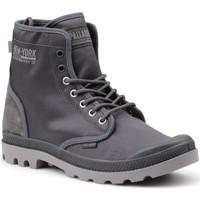 kengät Miehet Korkeavartiset tennarit Palladium Manufacture Pampa Solid Ranger 76013-075-M grey