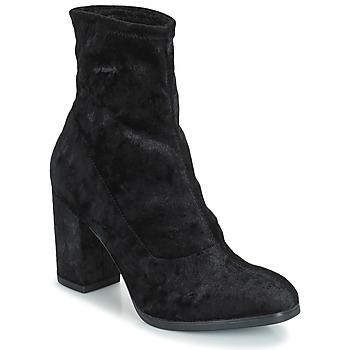 kengät Naiset Nilkkurit Caprice  Musta / Ruskea / valkoinen