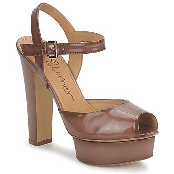 kengät Naiset Sandaalit ja avokkaat Eva Turner ERSILIA Brown