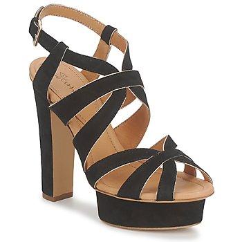 kengät Naiset Sandaalit ja avokkaat Eva Turner LIVIA Black