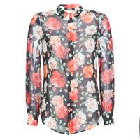 vaatteet Naiset Paitapusero / Kauluspaita Guess CLOUIS Black / Monivärinen