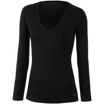 vaatteet Naiset T-paidat pitkillä hihoilla Impetus Innovation Woman 8361898 020 Musta