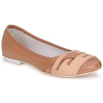 kengät Naiset Balleriinat Marithé & Francois Girbaud BOOM COGNAC