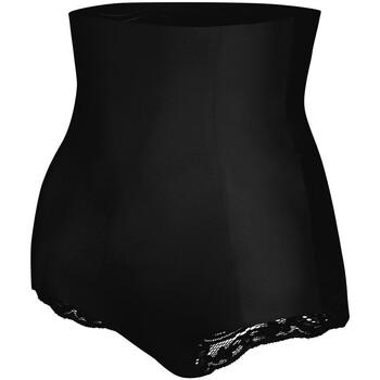 Alusvaatteet Naiset Muotoilevat alushousut Julimex 341 LACE NOIR Musta