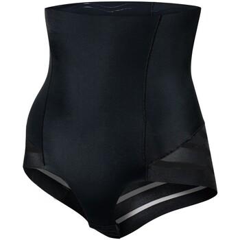 Alusvaatteet Naiset Muotoilevat alushousut Julimex 141 MESH NOIR Musta