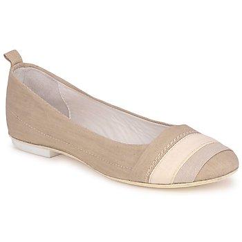 kengät Naiset Balleriinat Marithé & Francois Girbaud BRUMES BEIGE