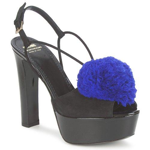 kengät Naiset Sandaalit ja avokkaat Moschino Cheap & CHIC CA1608 Ooc-musta-sininen