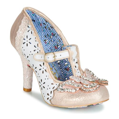 kengät Naiset Korkokengät Irregular Choice PAPILLON White