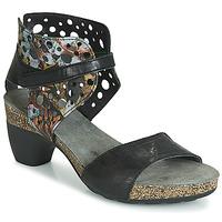 kengät Naiset Sandaalit ja avokkaat Think ZEG Black