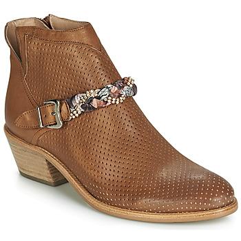 kengät Naiset Bootsit Muratti DENISETTE Cognac
