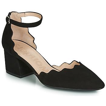 kengät Naiset Sandaalit ja avokkaat Wonders MATTA Black