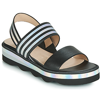 kengät Naiset Sandaalit ja avokkaat Wonders BOLETTI Black