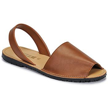 kengät Naiset Sandaalit ja avokkaat So Size LOJA Brown
