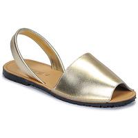 kengät Naiset Sandaalit ja avokkaat So Size LOJA Kulta
