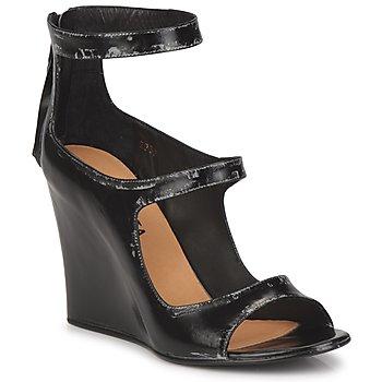 kengät Naiset Sandaalit ja avokkaat Premiata 2830 LUCE Musta