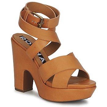 kengät Naiset Sandaalit ja avokkaat Rochas RO18082 Brown