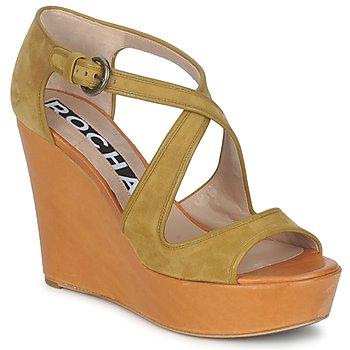 kengät Naiset Sandaalit ja avokkaat Rochas RO18131 Ruskea