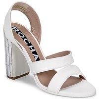 kengät Naiset Sandaalit ja avokkaat Rochas RO18244 White