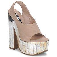 kengät Naiset Sandaalit ja avokkaat Rochas RO18175 Tabacco