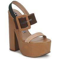 kengät Naiset Sandaalit ja avokkaat Rochas RO18231 Brun / Beige