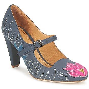 kengät Naiset Korkokengät Maloles CLOTHILDE Grey / Pink