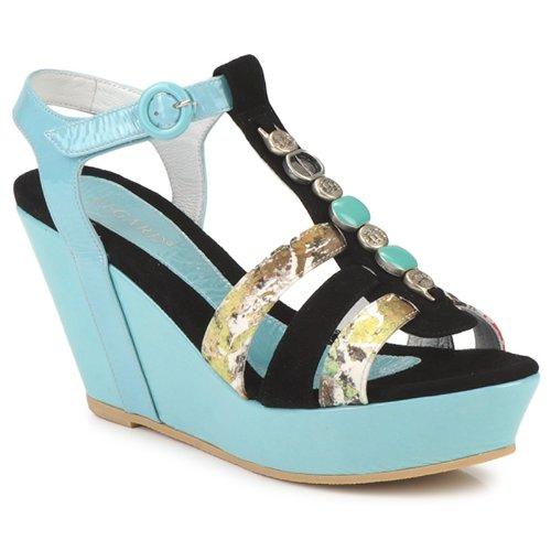 kengät Naiset Sandaalit ja avokkaat Regard RAFAVO Black / Blue